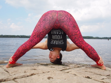Outfit: Shake Your Asana Tank and Bloom Leggings from Inner Fire Photo by Mark Gustafsson